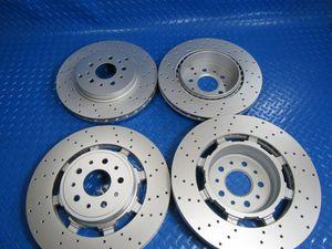 Maserati GranTurismo Gt front rear brake rotors drilled PREMIUM QUALITY #6740 for Sale in Hallandale Beach, FL
