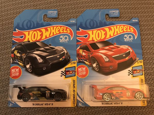 Hot Wheels Cadillac lot