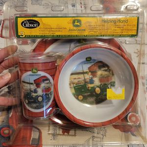 John Deere Kid's Collectible 3pc Serving Set Unopened for Sale in Jersey Shore, PA