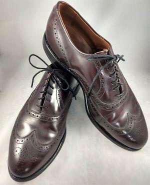 Allen Edmonds Burgundy Brown Chester Dress Shoes for Sale in Morton, IL