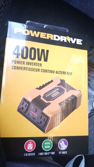 PowerDrive 400W power inverter for Sale in Washington, DC