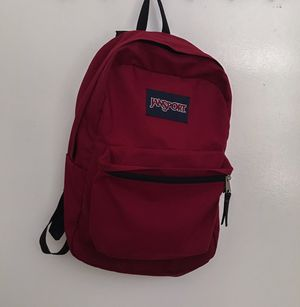 JanSport Bergundy Backpack for Sale in San Diego, CA