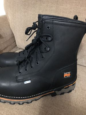 New timberland boots steel toe size 10.5 for Sale in Houston, TX