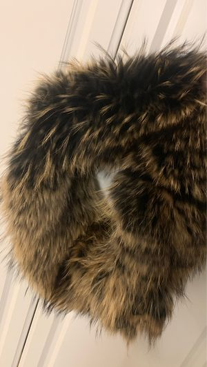 Vest with fur collar and hood. Spent 500 for Sale in Melville, NY