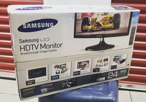 """Samsung 24"""" LED Monitor for Sale in Brentwood, MD"""