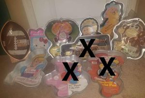 Various cake pans for Sale in Surprise, AZ