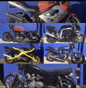 Yamaha Suzuki triumph kawasaki crusier sportbike motorcycle for Sale in Orlando, FL