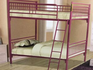 Twin/twin bunk bed for Sale in Las Vegas, NV