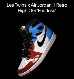 Les Twins x Air Jordan 1 Retro High OG 'Fearless' for Sale in Nashville, TN