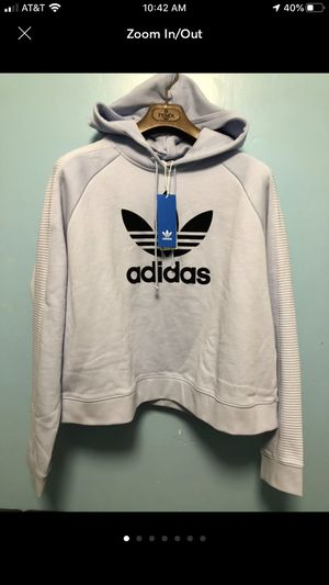 sweat shirt adidas cropped hoodie SZ XL for Sale in Brooklyn, NY