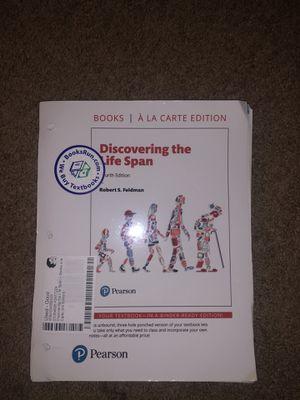 PEARSON DISCOVERING THE LIFE SPAN BOOK for Sale in Miami, FL