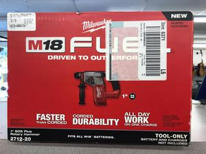 Milwaukee Rotary Hammer 2712-20 for Sale in Kissimmee, FL