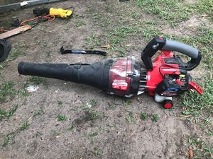 Troy bilt jet 2 cycle for Sale in Richmond Hill, GA