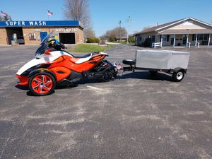 Custom Made pull behind Motorcycle Trailer for Sale in Clinton, IA