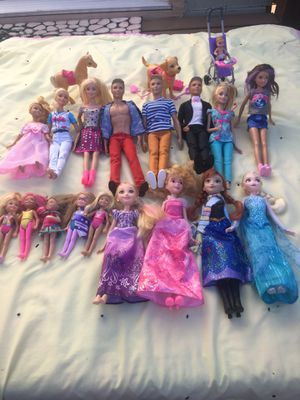 Barbie & Ken ,Anna, Elsa, miniature Barbies for Sale in Oceanside, CA