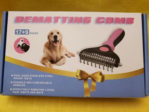 NO DELIVERY Dematting Dog Comb Grooming Comb for Sale in South Gate, CA