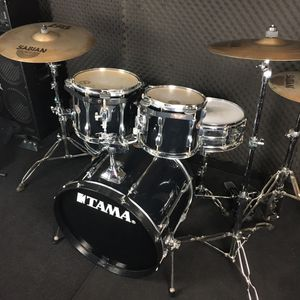 Tama Rockstar Drum Set with Double Kick Pedal for Sale in Claremont, CA