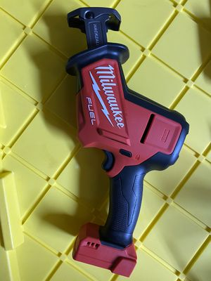 Milwaukee M18 fuel hackzall TOOL ONLY for Sale in San Jose, CA