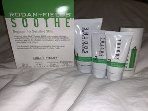 Brand new Rodan and Fields Soothe Skincare Regiment 4pc Set for Sale in Garden Grove, CA