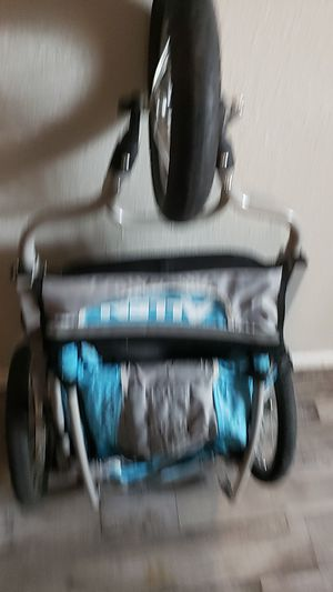 Bike trailer and also stroller for Sale in Dallas, TX