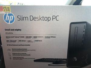 Hp slim desktop for Sale in GRANT VLKRIA, FL