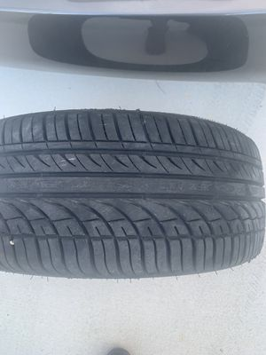 245/45/18 still like new tire less than 50 miles on it Fullway HP108 performance tire $60 for Sale in Miami, FL