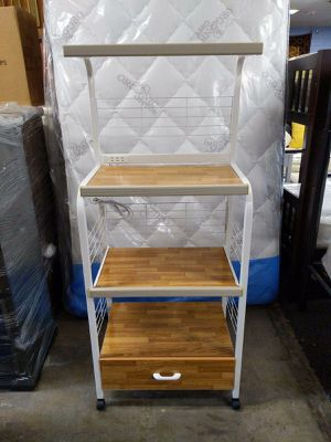 MICROWAVE KITCHEN CART for Sale in Los Angeles, CA