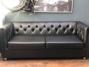 Moore & Giles Tribeca Leather Sleeper Sofa for Sale in Portland, OR