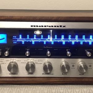 Marantz 4300 Receiver With A Wood Case & SQA-2. Been Serviced & Partial Recapped for Sale in Fullerton, CA