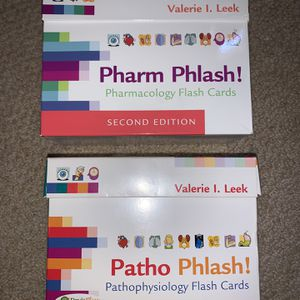 Pathophysiology & Pharmacology Flash Cards for Sale in San Francisco, CA