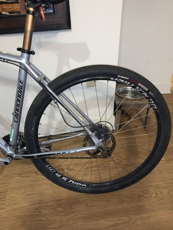 Cannondale mountain bike XL frame
