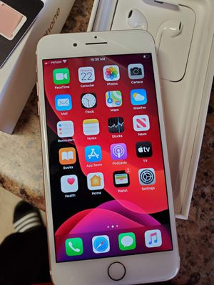 Unused Verizon iPhone 7plus with Verizon new VZN sim card for Sale in ELEVEN MILE, AZ