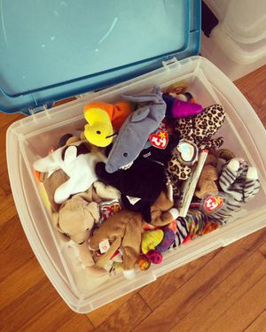 Beanie Babies - mixed box of over 50 for Sale in La Jolla, CA