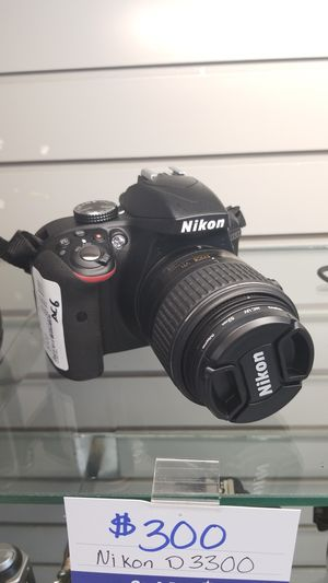 Nikon D3300 for Sale in Lewisville, TX