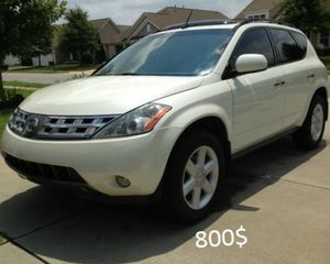 Very clean Nissan Murano 2O03 4WD-Wheelsss for Sale in Colorado Springs, CO