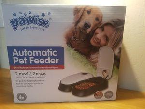 Automatic Pet Feeder Double Bowls for Sale in Phoenix, AZ