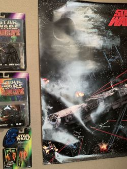 Star Wars Action Figures + 3 Posters for Sale in Bonney Lake,  WA