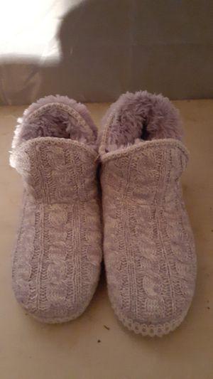 "Kirkland ""The Original"" Womens Lavender Muk Luks Fuzzy Slippers (Size 9-10 ) for Sale in Shoreline, WA"