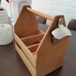 Wooden Beer Case With Opener for Sale in Miami, FL