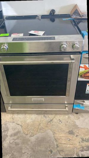 Kitchen aid KSEG700ESS electric stove ☺️☺️☺️ 5IT7W for Sale in Houston, TX