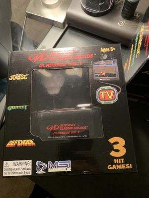 Midway classic arcade games volume 1 for Sale in Tampa, FL