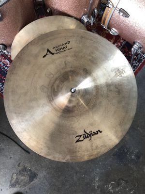 Zildjian 14 hi hats (pair) A series (Armand) for Sale in Whittier, CA