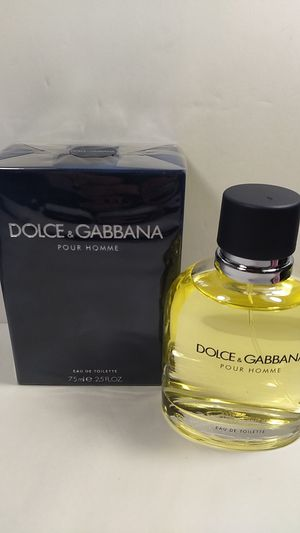 100% AUTHENTIC DOLCE & GABBANA POUR HOMME FRAGRANCE FOR MEN for Sale in HALNDLE BCH, FL