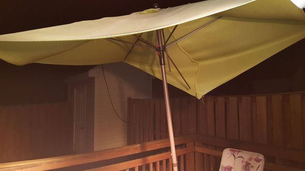 Patio furniture...with umbrella not with stand