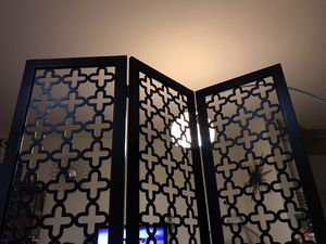 Modern room screen divider, 6 feet tall for Sale in Chula Vista, CA
