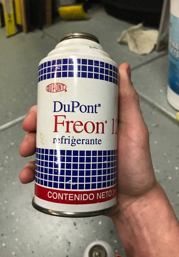 Refrigerant DuPont Freon 12. 340g cans