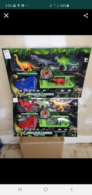 New dinosaur carrier for Sale in Riverside, CA