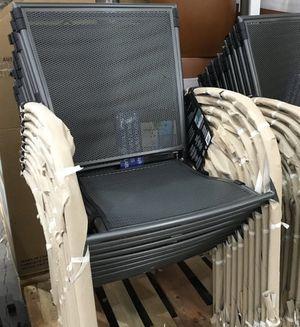 50% OFF // COSTCO 4-Units package Sunvilla Micro Mesh Commercial Bistro Chair for Sale in Pompano Beach, FL