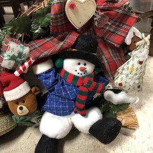 Snowman Wreath for Sale in Phoenix, MD