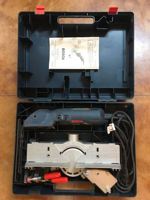 Bosch Fine cut FS2000 saw power tool complete set for Sale in Newberg, OR